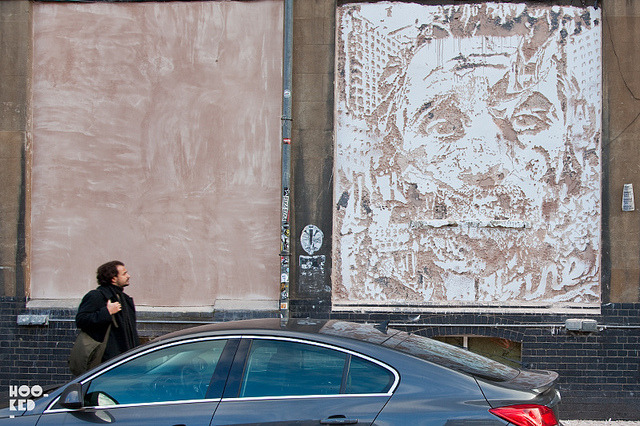 Vhils on Flickr.New work in London.