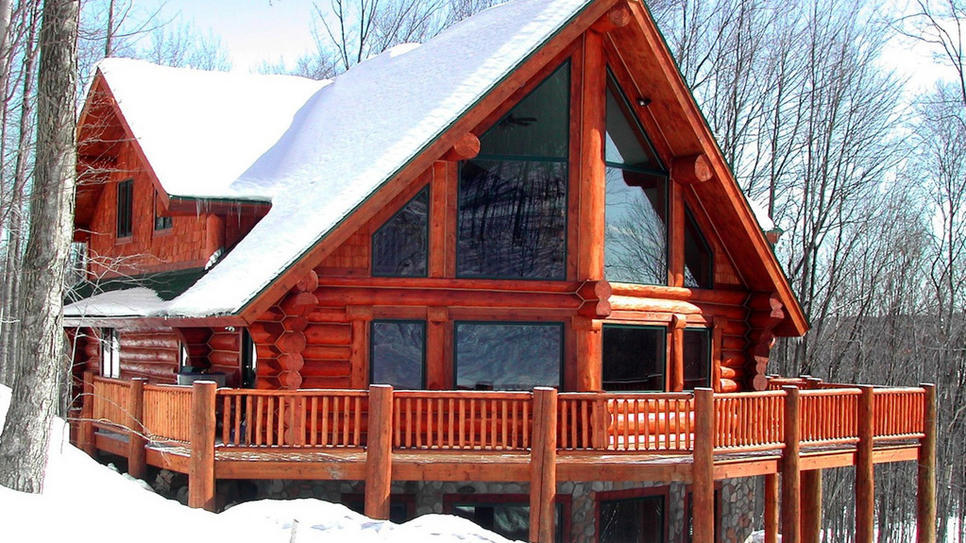 Michigan Picture-Perfect Ski Retreat  (via Picture-Perfect Ski Retreat : Daily Escape : Travel Channel)