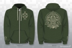 'Gear-Me-Up' of the day!  The Zelda Temple Hoodie  Product Page ($49)