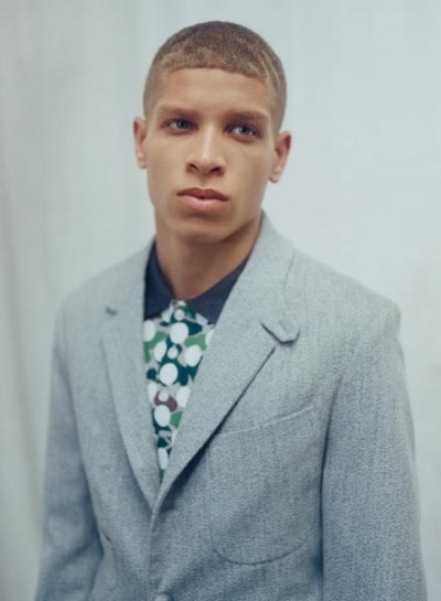 fmmodelagency:  Chuck Achike in the ASOS SS13 lookbook