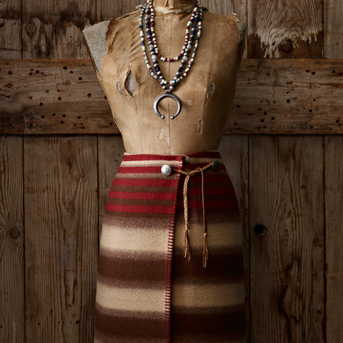 dig ralphlauren:   Ralph Lauren Vintage Collection: Serape Wrap Skirt  Introducing a selection of vintage pieces that were inspired by Ralph Lauren's love of the West. This skirt was inspired by a serape with a relatively simple pattern and muted earth tones. Circa 1990. Become a part of Ralph Lauren's history and share your favorite RL Vintage moments with us by using the tag #RLVintage on your Tumblr posts. Explore Now