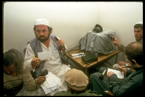 "Since 1973, seven out of the past nine Afghan Presidents have taken power in Kabul in non-peaceful ways. Steve Coll talks with former Afghan Defense Minister and leader of a coup against his President, Shahnawaz Tanai, and discovers ""some of the texture— the human quality— of an attempted Afghan coup d'etat"": http://nyr.kr/TuTBLg  Photograph by Robert Nickelsberg/Time Life Pictures/Getty."