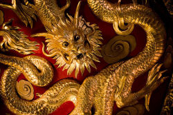 Chinese roof dragon.  Source