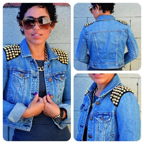 #DIY jacket. Tutorial at www.mimigstyle.com #mimigoodwin #mimig (at Fashcapade)