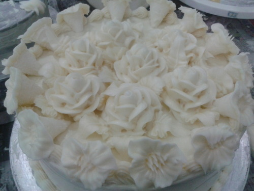 Shortening White cake