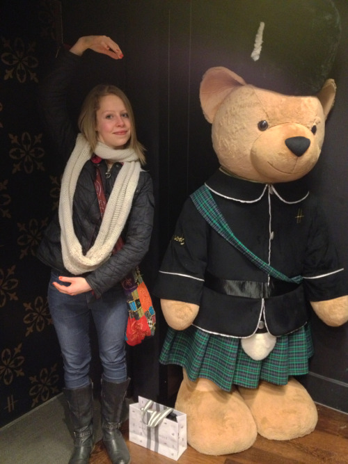 Scottish Harrods Bear!