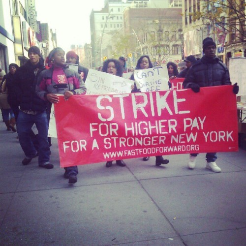 Strike for higher pay for a stronger NY! #fastfoodfwd