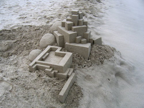 The Sand Castle Goes Postmodern