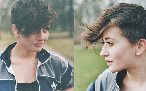 undressed-me:  FUCK YEAH GIRLS WITH SHORT HAIR on @weheartit.com - http://whrt.it/YuxXJH