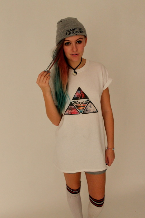 maz1ak:  Maziak Clothing Triangle Mix Tee Available Here!!!
