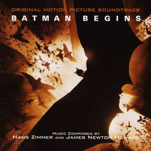 Favorite film soundtracks/scores in no order Batman Begins: Original Motion Picture soundtrack by Hans Zimmer and James Newton Howard 1-Vespertilio 2-Eptesicus 3-Myotis 4-Barbastella 5-Artibeus 6-Tadarida 7-Macrotus 8-Antrozous 9-Nycteris 10-Molossus 11-Corynohinus 12-Lasiurus