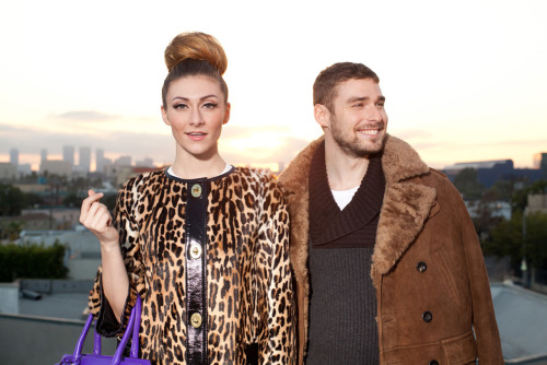 Style remix! Musical duo Karmin gets the glam treatment by Rachel Zoe for Coach »