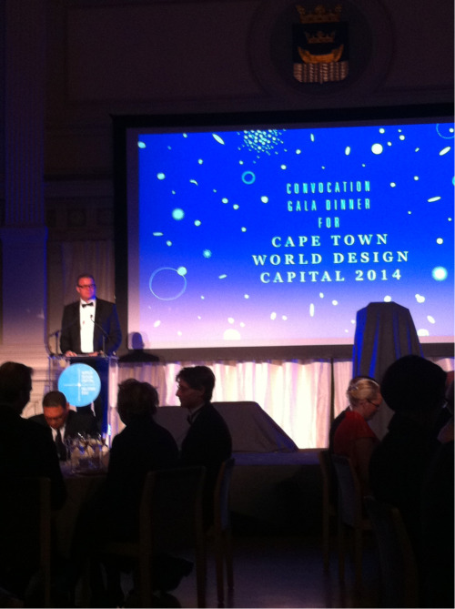 The convocation gala dinner for Cape Town WDC 2014 opening words from Executive Director Pekka Timonen.