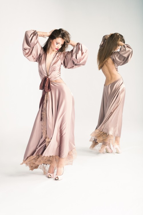 Amoralle 'Lilac of Luck' Robe via: The Lingerie Addict