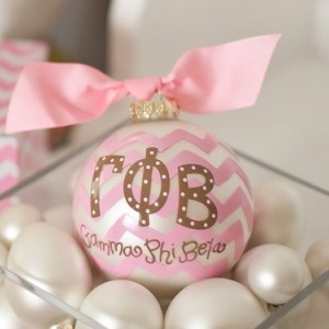 …and a GPhi ornament. Getting in the holiday spirit :)