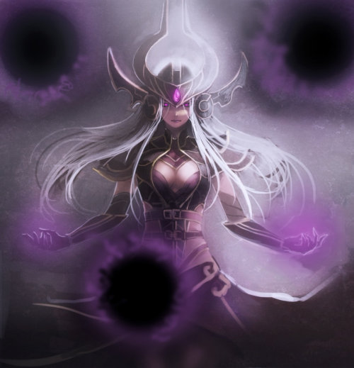 summonerladyv:  Syndra by ~PRICENUKE