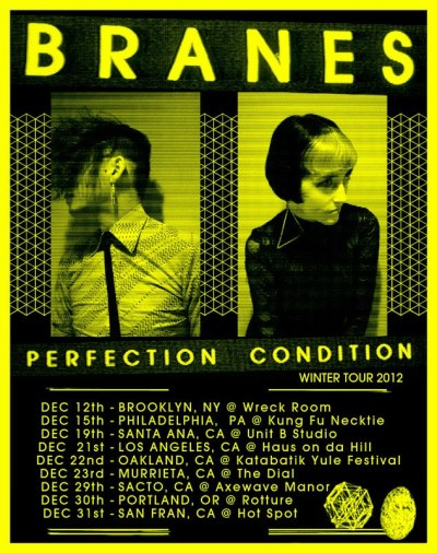 b-r-a-n-e-s:  PERFECTION CONDITION TOUR!!!