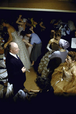 Christian Dior Haute Couture S/S 1957 | Backstage