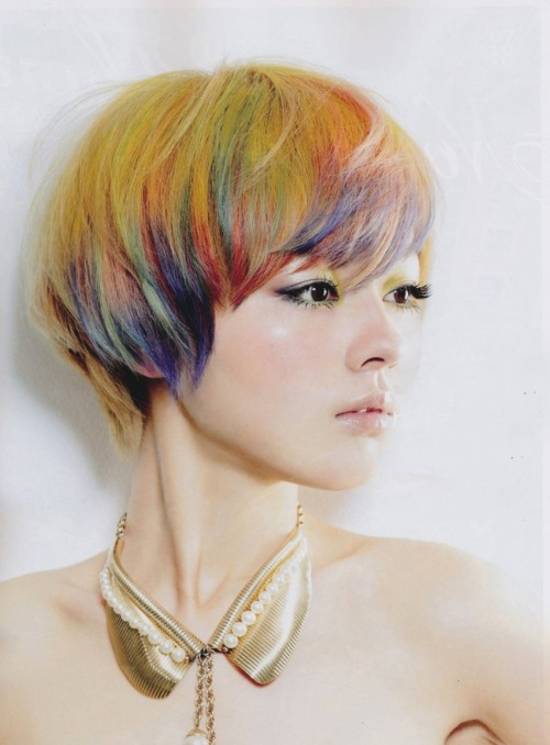 jeou:  japanese hair magazine, tomotomo #542, august 2011