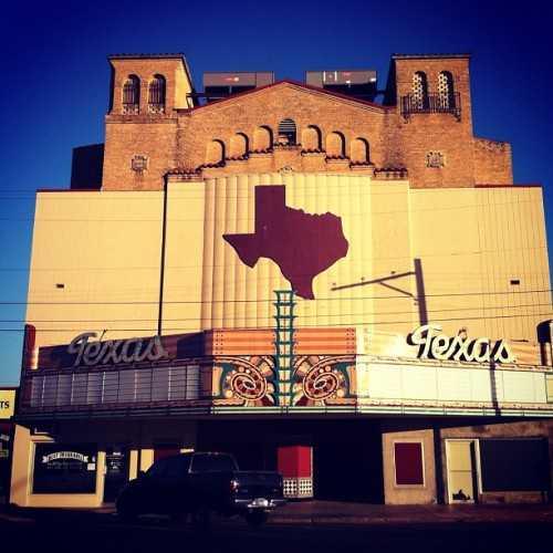 Art research road trip to San Angelo, for July 2012 issue. #throwbackthursday #roadtrip #oldtimetexas #sanangelo #mainstreetUSA