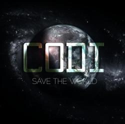 "noise-floor:  I redesigned Codi's newest EP, ""Save the World"" EP, which can be downloaded here with the original art for free or name your own price. I'll be helping to tackle the marketing for his Spring 2013 release. Codi is Cody Sheldon, a Metro-Detroit area recording artist and former 2009 American Idol finalist."