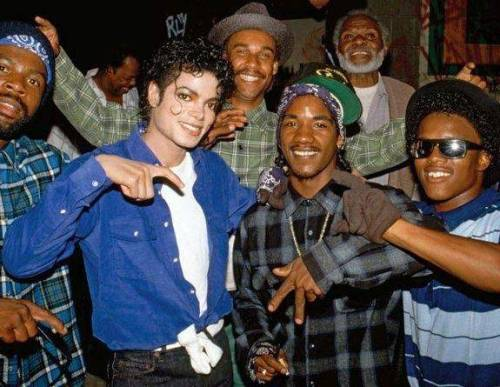 Michael Jackson was a crip…