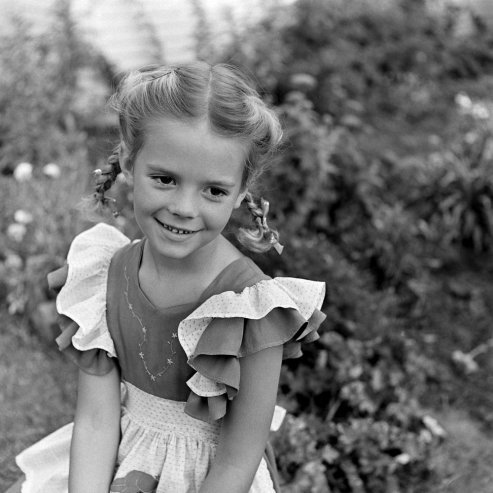 Absolutely adorable: Natalie Wood as a young girl photographed by LIFE's Martha Holmes. See more here.