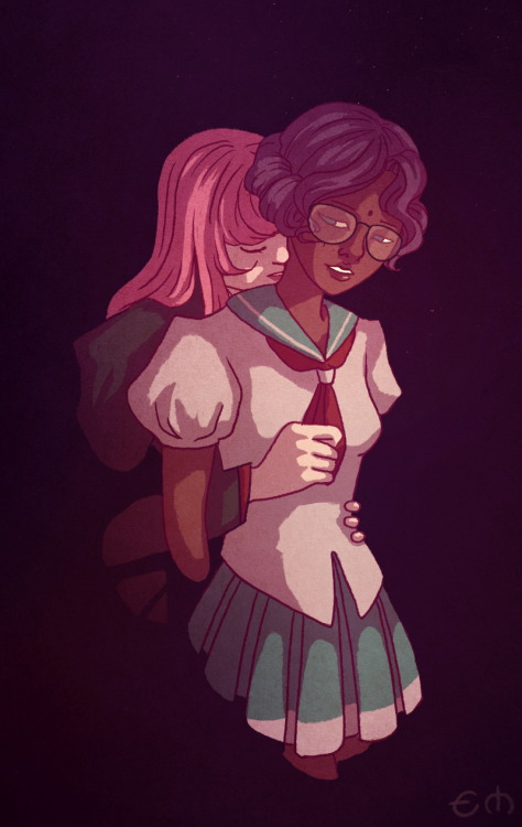 elisdraws:  Utena fanart Because I still think this is one of the most lovely animes ever made just look at this