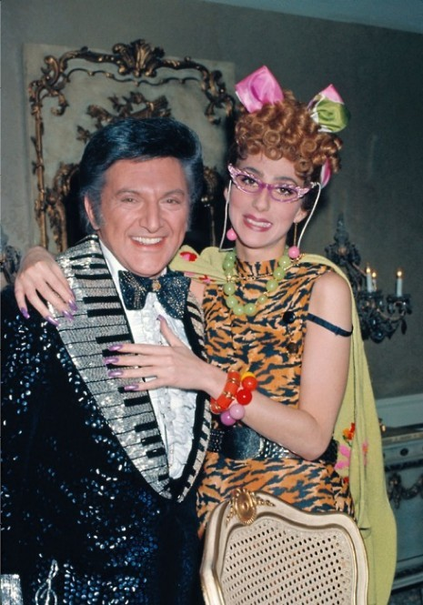 fangrrrling:  liberace and cher