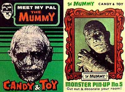 The Mummy Candy & Toy  (1960s)