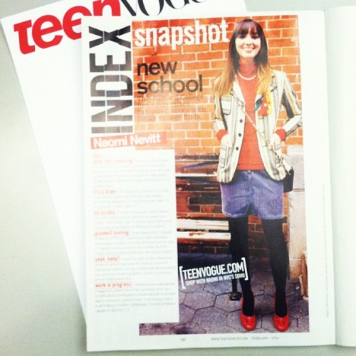 #ThrowbackThursday: Teen Vogue's @naominevitt was our February 2004 Snapshot girl! Little did she know then that she would become the web editor for the magazine