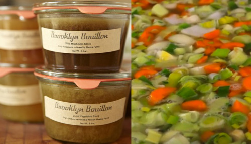 We're excited for Rachael of Brooklyn Bouillon to offer up her sustainable stocks on Plovgh this week. Take your pick of grass-fed beef stock, pasture-raised chicken stock, or — for you vegetarians and vegans out there — farm-fresh vegetable stock. Perfect for a hearty winter soup to keep you warm and full as the temperature continues to drop. Order your stocks now on Plovgh through Saturday evening and then pick your order up at the Second Annual Slow Food Show at Jimmy's no. 43 on Sunday between 1:00 and 5:00pm. Say hello to the Plovgh crew and check out the various delicious offerings from other Slow Food NYC partners. See you there!