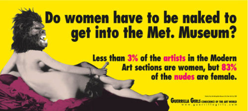 Cartel de las Guerrilla Girls