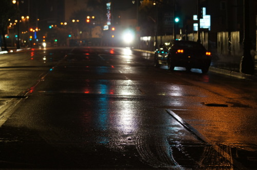 November 28, 2012. 9:30pm South Broadway, DTLA