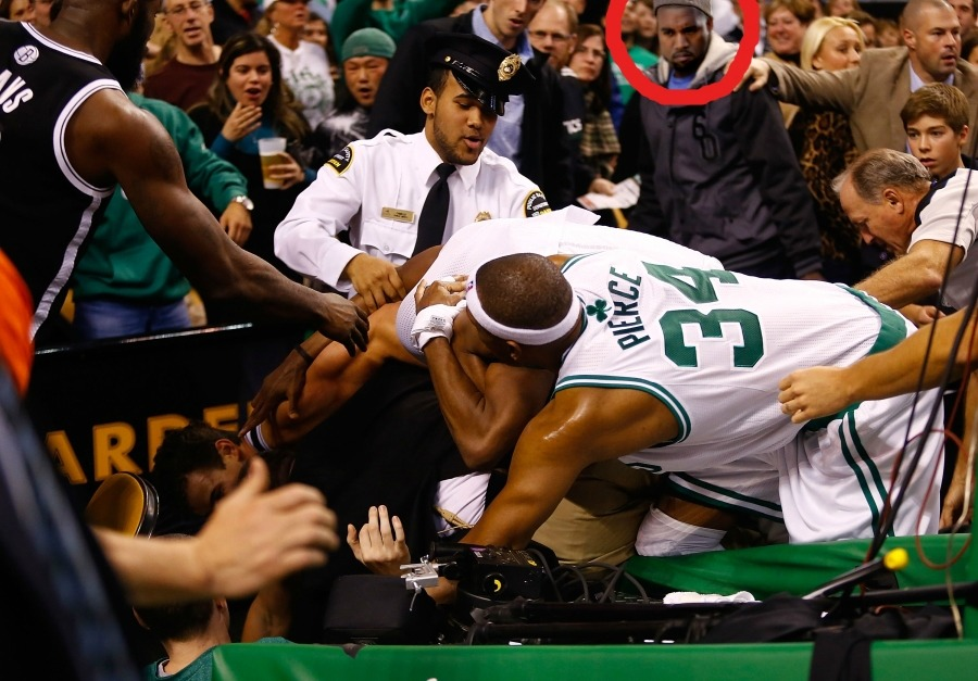 LEAKED: Kanye Witnessed Rondo/Humphries Fight.