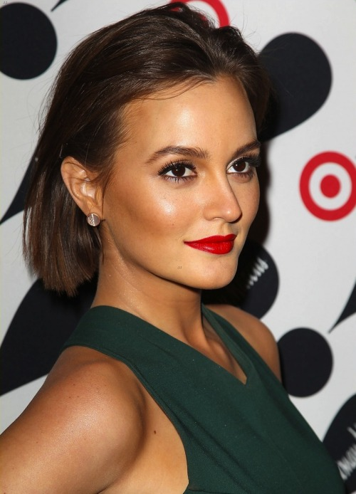 Leighton at the Target and Neiman Marcus Holiday Collection event on November 28th in NYC