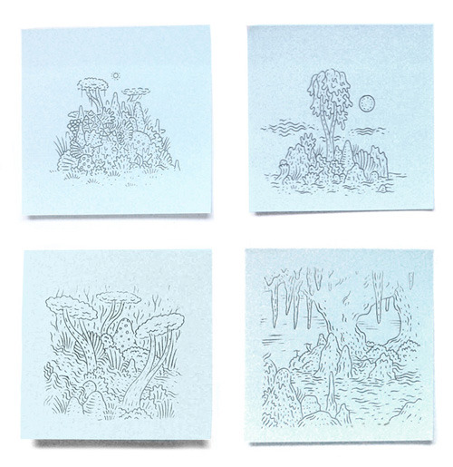 Post-its : (Part 2) Appearing at Post-It Show 8, Giant Robot in LA on 8 Dec.