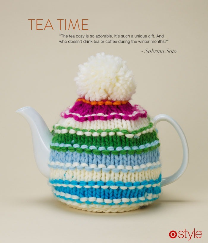 Gift Idea: A Sweater for your Tea Kettle Right? Freakin' adorable. own it now: shop tea cozy in store.