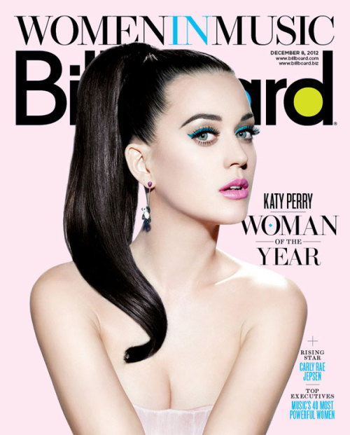 The lovely Katy Perry covers the new Women In Music issue of Billboard magazine! Stay tuned for the cover story and click here to subscribe. More Katy news: Katy Perry's Top 10 Biggest Career Moments VIDEO: Katy Talks Being Billboard's Woman of the Year Billboard's Women In Music 2012 Click here to follow Billboard on Tumblr for a first look at the magazine cover each week!
