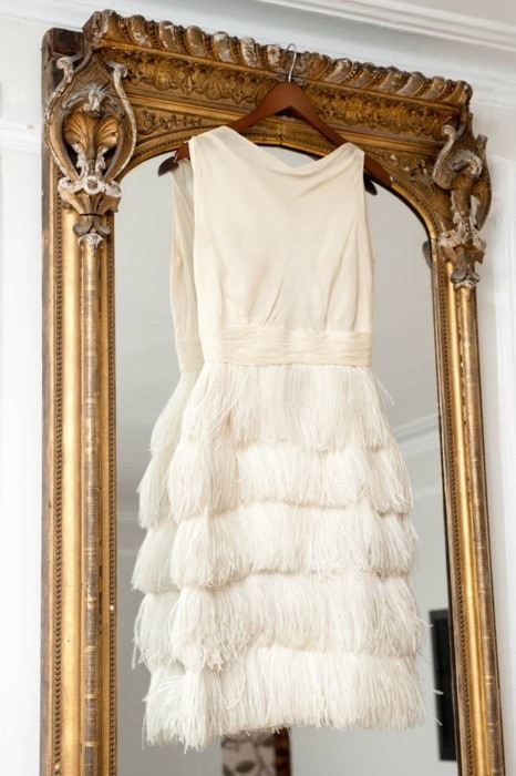 designtrolls:  PALE FEATHER DRESS