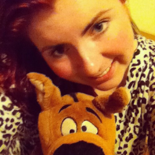 "#onesie #scoobydoo #hotwaterbottle #bed :"")"