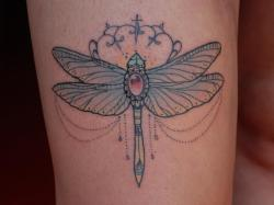fuckyeahtattoos:  Dragonfly  by MISS JULIET DON'T TELL MAMA TATTOO STUDIO  PARMA ITALY http://missjulietcreation.blogspot.it/ INSTAGRAM: m1ss_juliet
