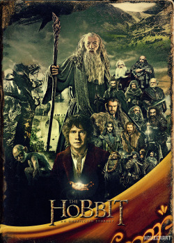 fuckyeahmovieposters:  The Hobbit: An Unexpected Journey by John 'Houzer' Smith