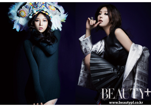 Wonder Girls' Yubin poses for the 'Wonderful Wish' photoshoot with 'Beauty+'