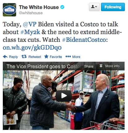 Joe goes to Costco.