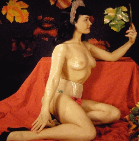 RARE BETTIE PAGE OF THE WEEK Adult Only  HERE  http://rarebettiepage.blogspot.com/2012/11/rare-bettie-page_4059.html