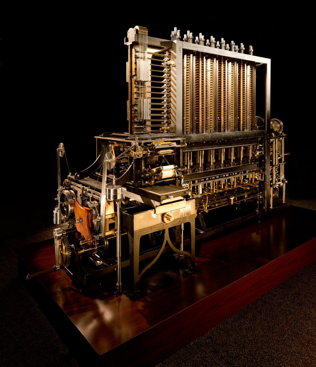 fishstickmonkey:  Babbage Difference Engine in Gigapixel | xRez Studio (via BoingBoing)