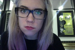 i'm lilac again and i finally got glasses