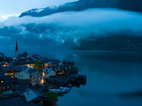 Hallstatt, Austria. Photo by Weimin Chu.