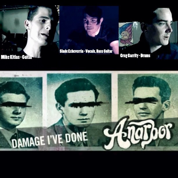 Behind the scenes video for our new single 'Damage I've Done' is available for your viewing pleasure right here 😽 http://propertyofzack.com/post/36832219419/poz-exclusive-anarbor-the-making-of-damage-ive